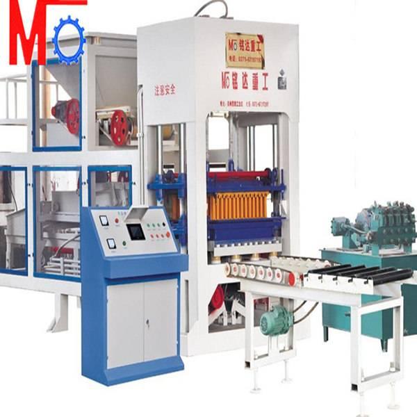 Hydraulic automatic block making machine