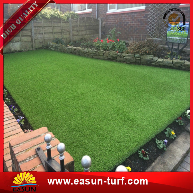Soft Yarn 30mm Playground Landscape Garden Synthetic Turf Artificial Grass-Donut