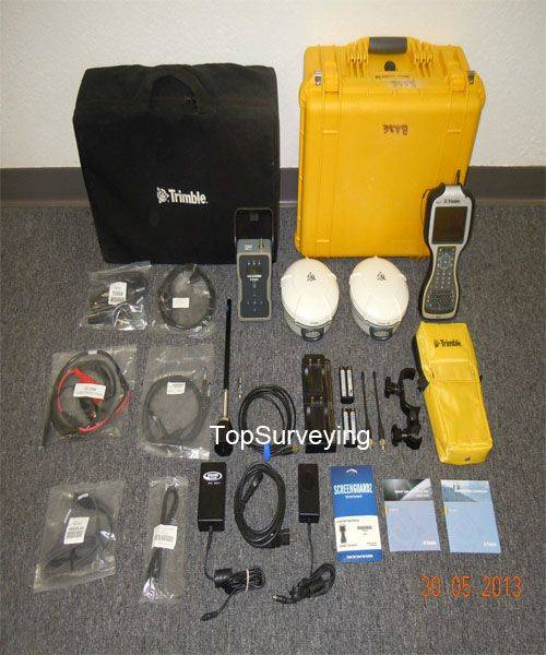 Trimble R8 Model 3 GPS TSC3 Rover Base RTK SET