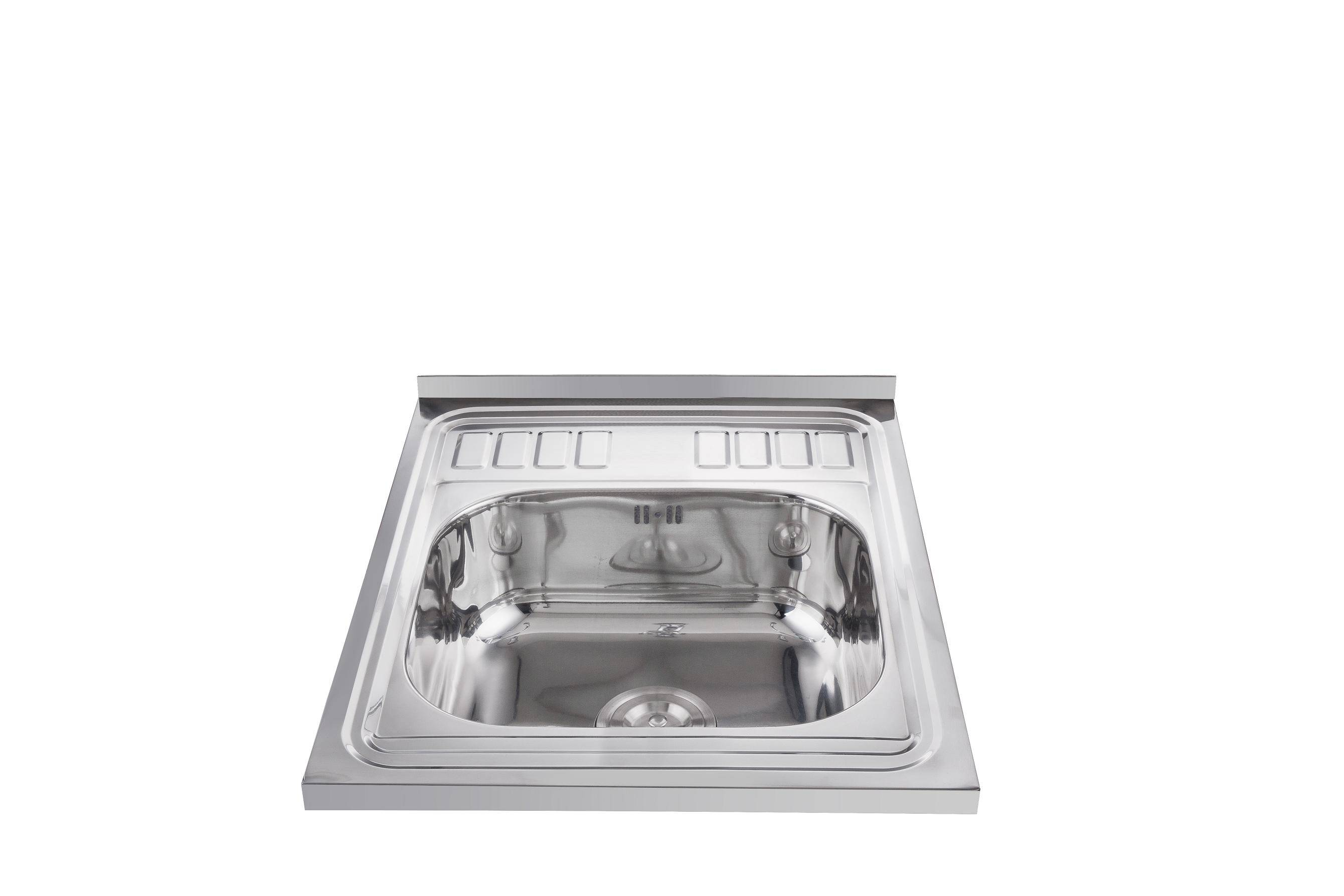 Chinese supplier single bowl universal layon kitchen sinks 60*50