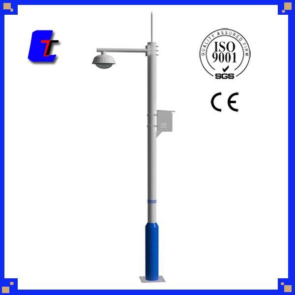 Galvanized Spray paint Steel Monitor pole