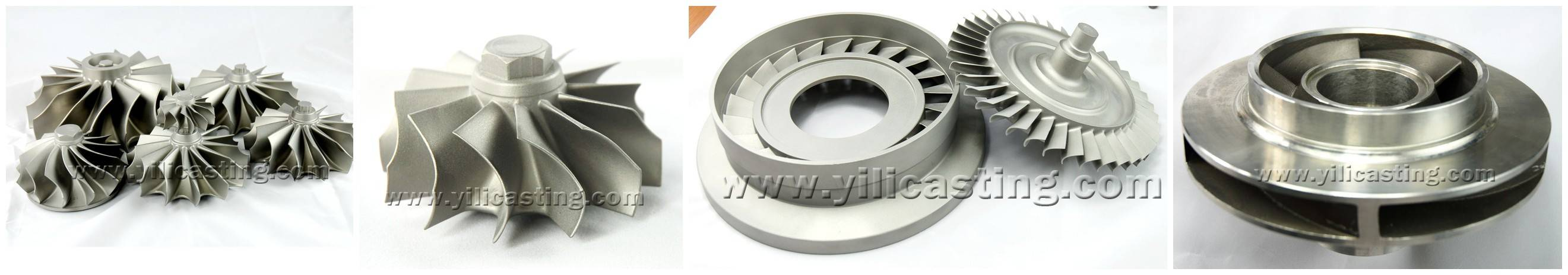 turbine wheel used for car and truck turbocharger parts