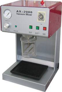 dental lab vacuum mixer/plasters investments mixer/investments mixing machine
