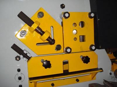 Q35Y-20 Hydraulic ironworker, punch and cut