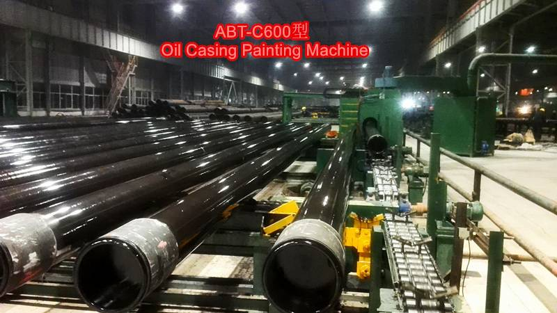 oil casing painting machine