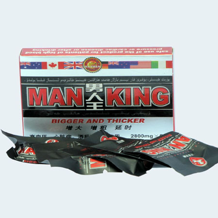 Man King 2800mg Biger and Thicker Male Enhancement Sex Pill