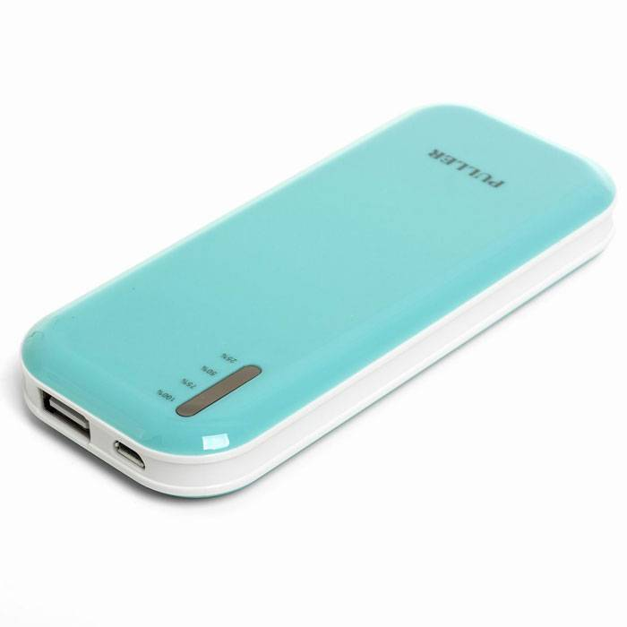 PULLER POWER BANK   5000mAh lithium polymer portable external battery charger