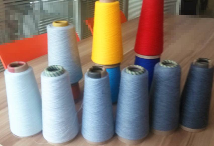 30/1 Dope Dyed 100% Polyester Yarn Low Price Manufacturer Polyester Yarn