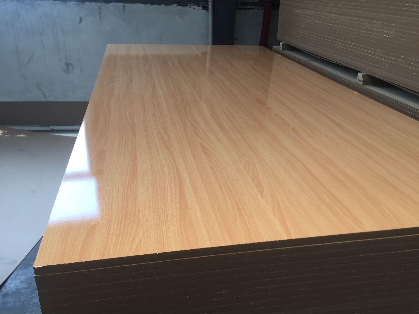 melamine faced MDF for kitchen cabinet , Cabinet board,interior decoration