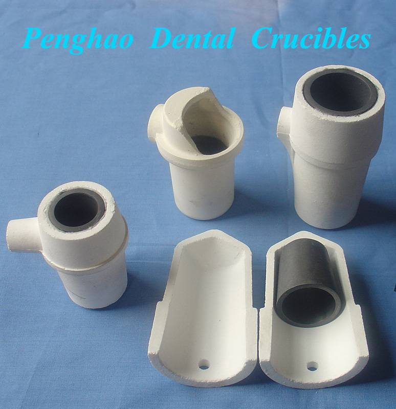 Dental Graphite inserts and carrier crucibles