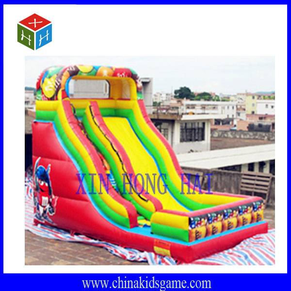 KI-XHH2030 High quality outdoor funny inflatable slide