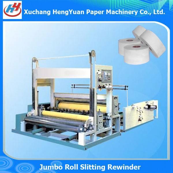 High Speed Full Automatic Jumbo Roll Slitting Machine