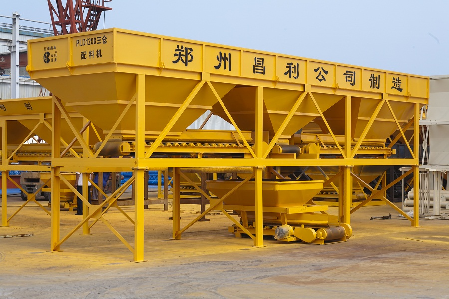 High Precision Concrete Batching Machine