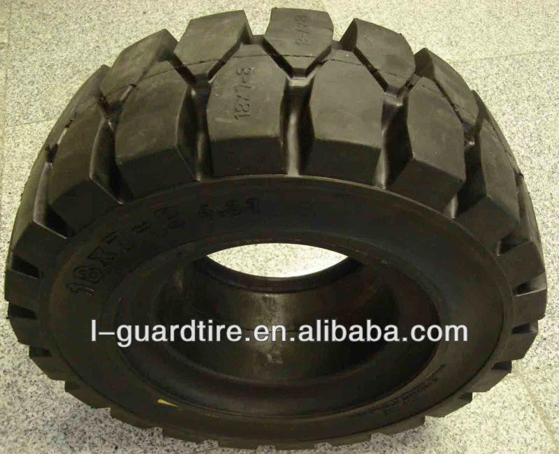Neumáticos sólidos para montacargas Llantas Pneu 8.25-15 6.50-10 650-10