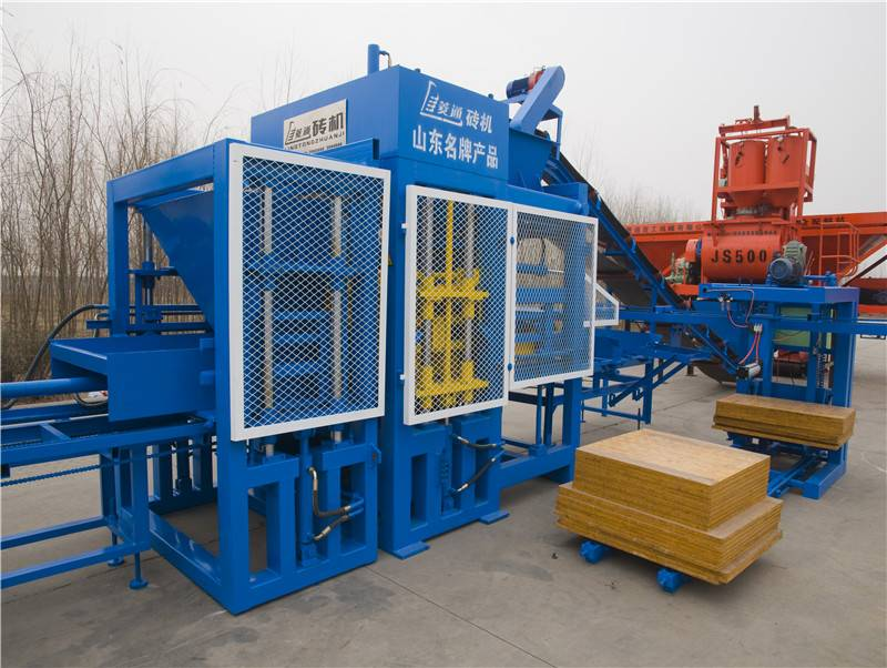 Best Selling Fully Automatic Paver Concrete Brick Block Molding Machine (Production Line)