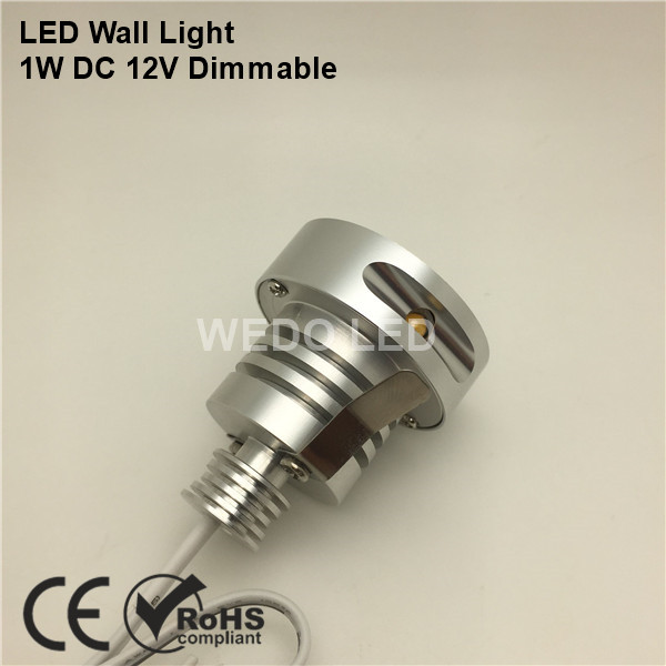 High Quality DC 12V 1W Mini LED Wall Stair Light
