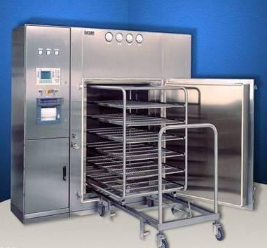 Pulsating vacuum sterilizer