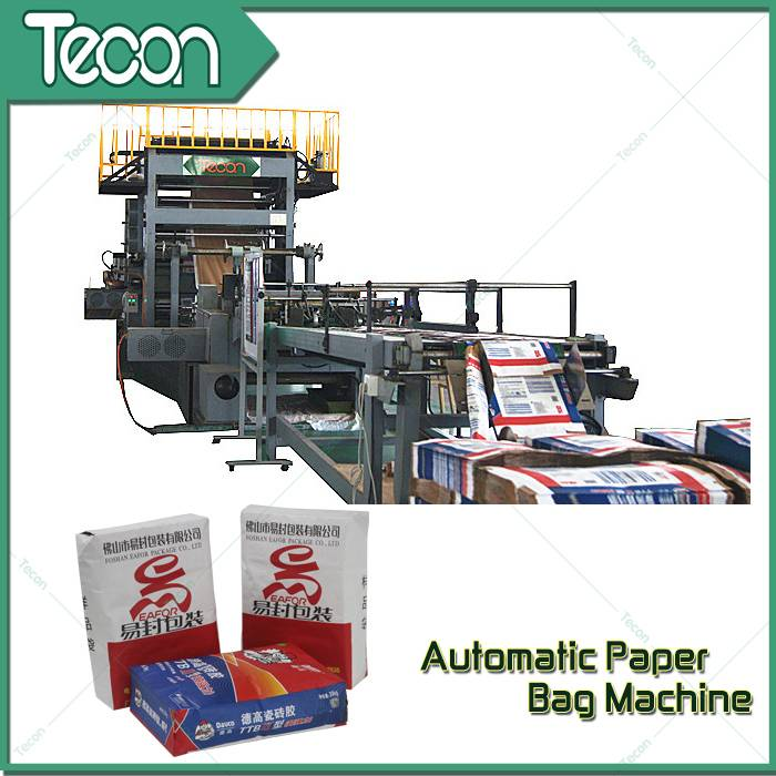 Automatic Energy Saving Paper Bag Making Machine with Flexo Printing