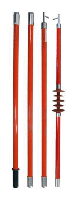 high voltage fiberglass brake pull rod