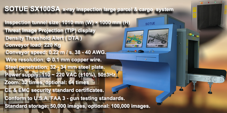 Big tunnel type x-ray machine, luggage scanner, air cargo x-ray scanner, x-ray inspection system
