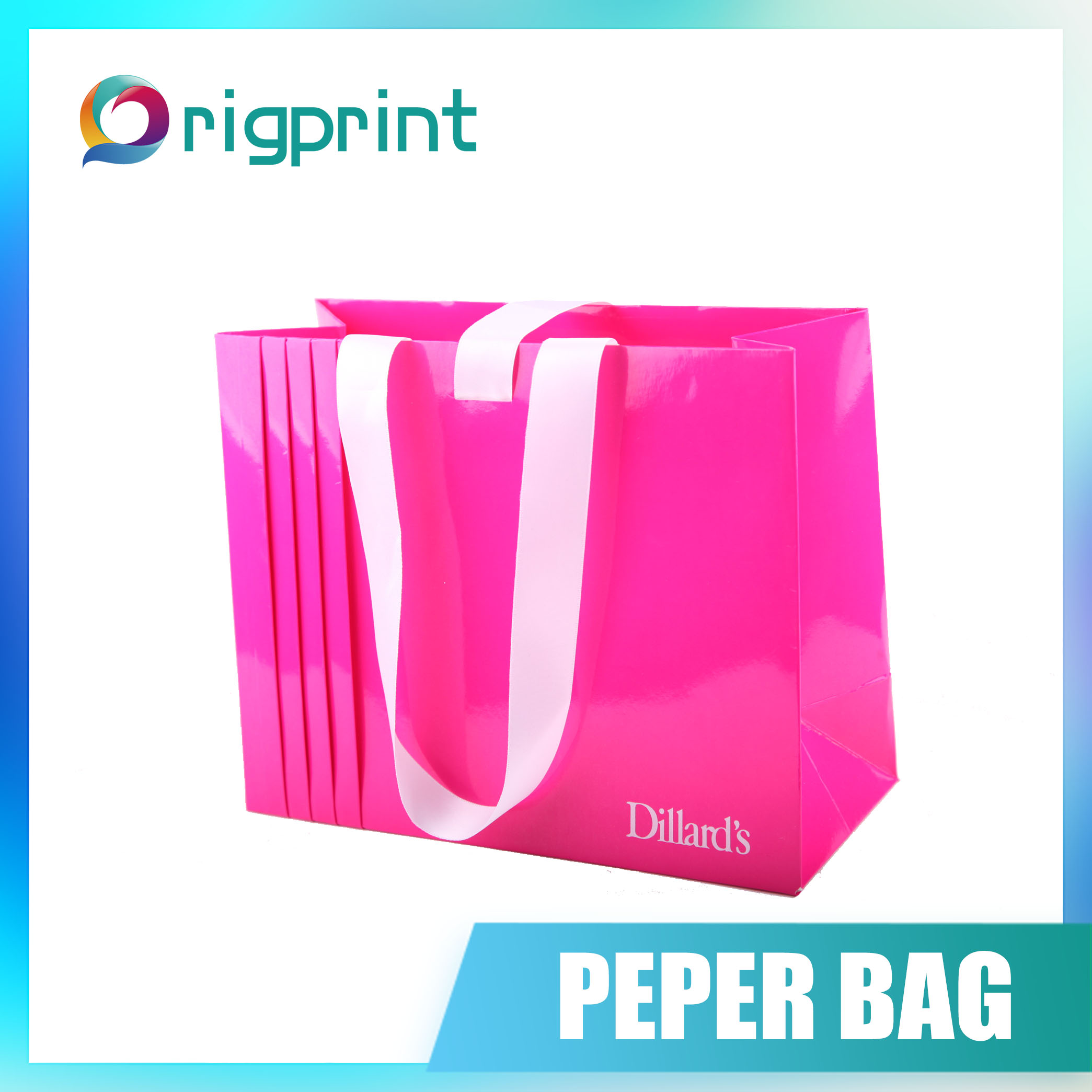 Promotion customized paper bag