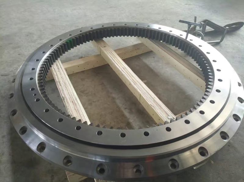 A ZX850-3 slewing ring slewing circle slewing ring for excavator parts
