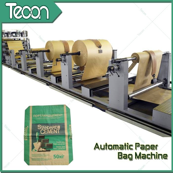 New Type High Performance Paper Bag Making Machine