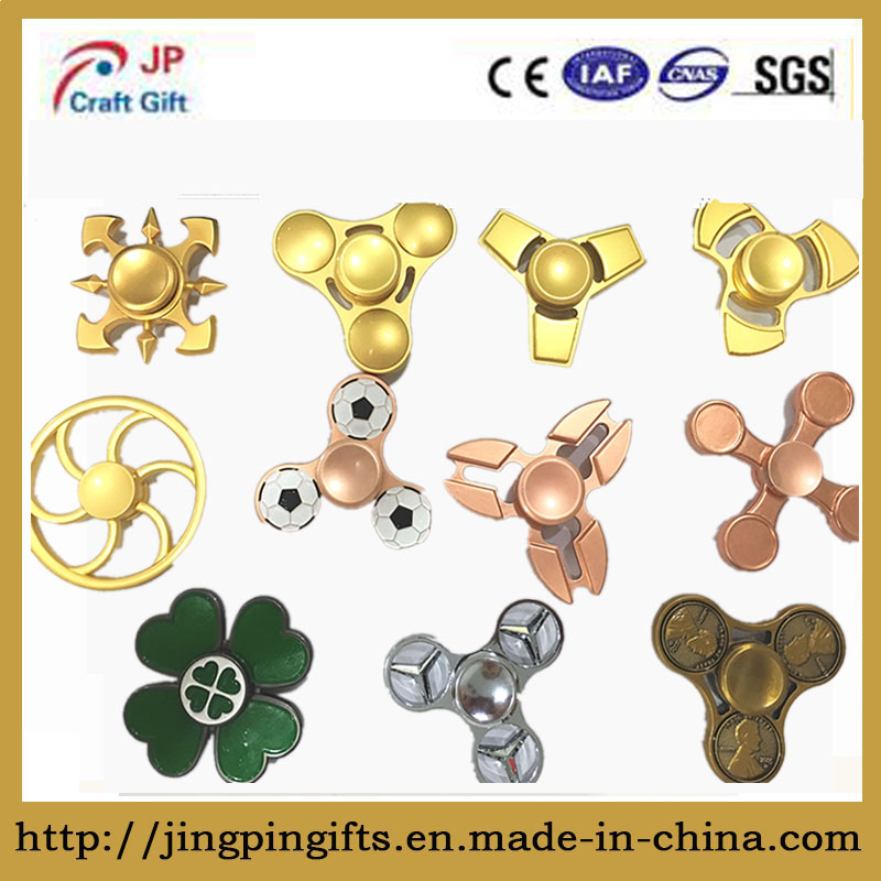 Hot Selling Wholesale Zinc Alloy Fidget Spinner for Release Stress