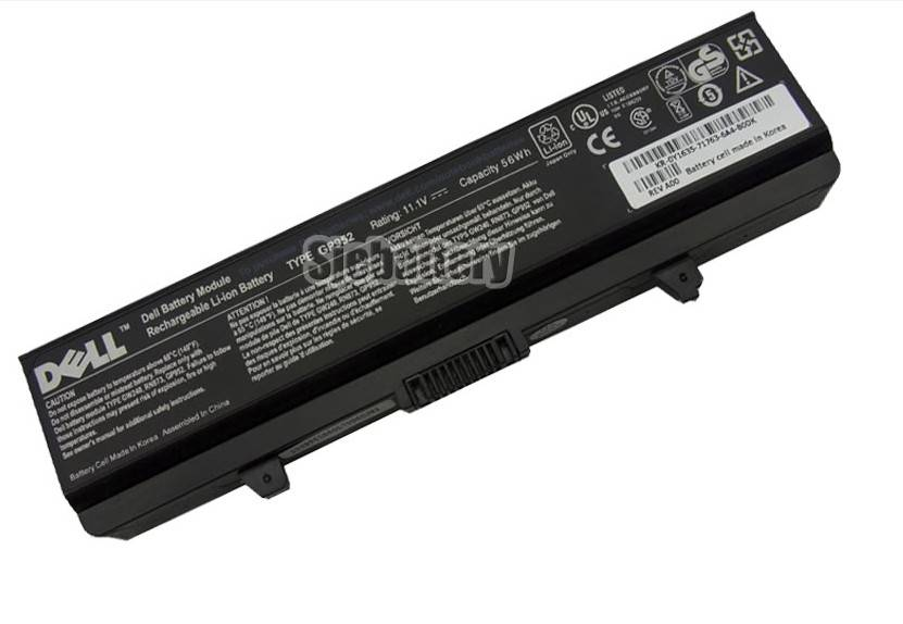 Original Dell Inspiron 1545 battery P505M PD685 RW240 Genuine 6Cells 6Cell 56Wh