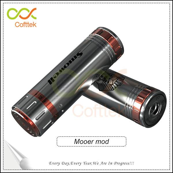 2014 New design wholesale mechanical mod hot sales copper/ss mod