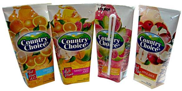 COUNTRY CHOICE juice & beverages