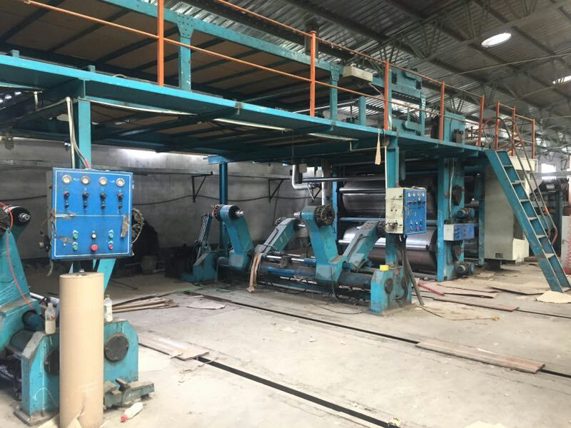 corrugated paperboard production line single facer flute paperboard production line