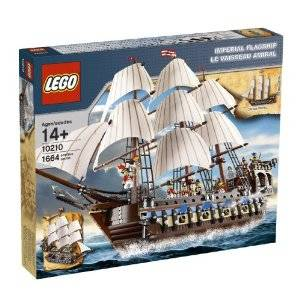 Original Lego Pirates Imperial Flagship #10210