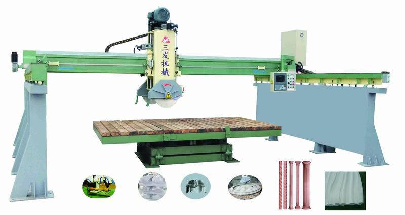 three-dimension bridge cutting machine