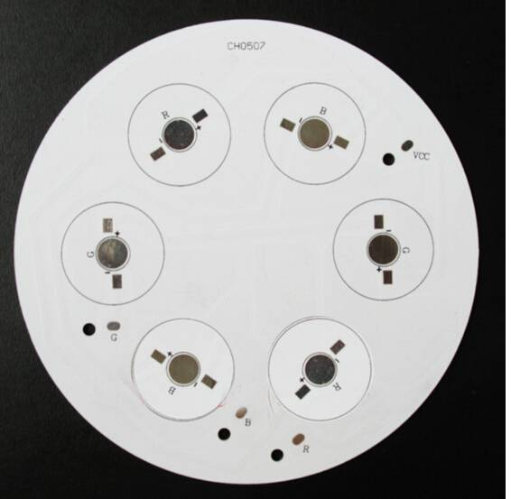 Single layer Aluminum PCB for lighting, made in China