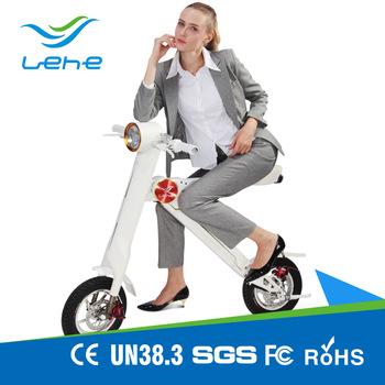 foldable ebike/escooter K1 48v 350w 8.7AH