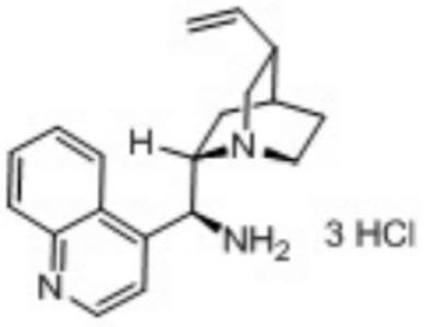 9-Amino-(9-deoxy)epi- Cinchonidine trihydrochlorideuclidin-2-yl)methanol,