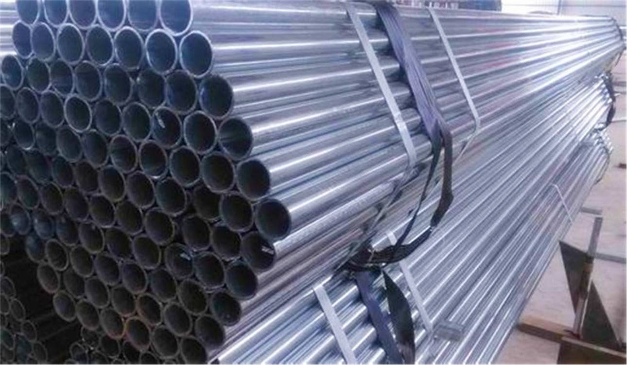 5.8m Hot DIP Galvanized Round Steel Pipe (Tube)