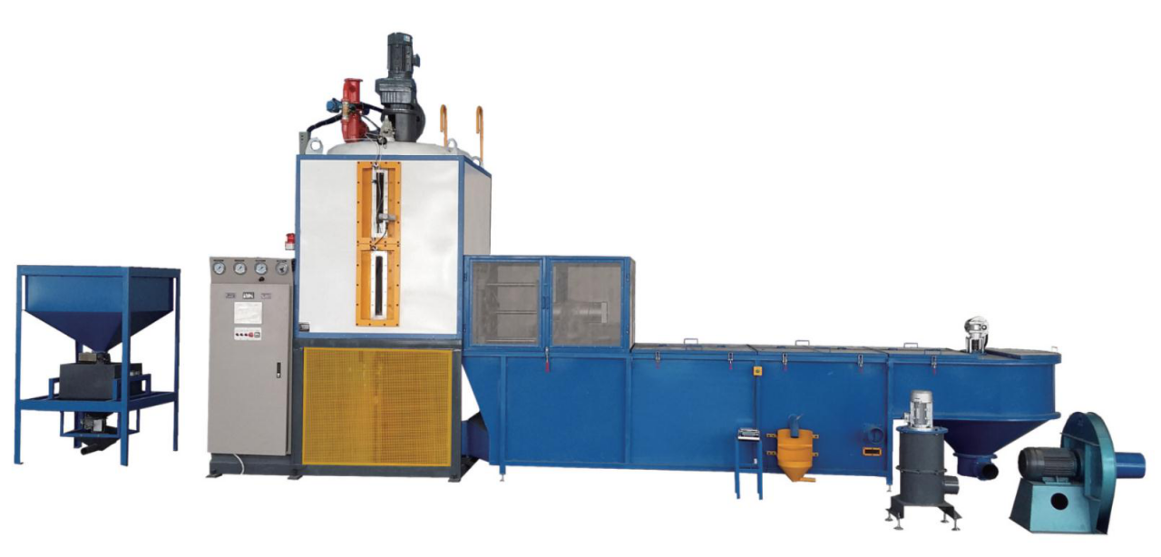 Accuracy Type EPS Automatic Expanded Polystyrene Batch Pre-Expander