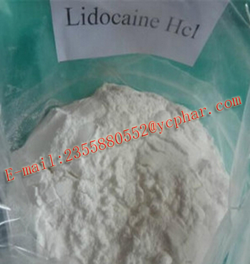 Pharmaceutical Grade Raw Material CAS 73-78-9 Lidocaine Hydrochloride