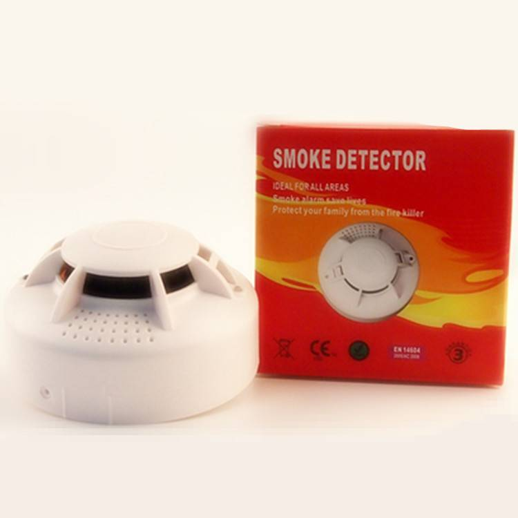 Photoelectric coventional 2 wire MCU smoke & Heat alarm Detector HS-FT103