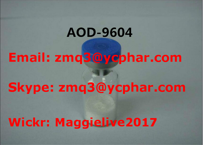 Peptide Growth Hormone AOD - 9604 Lyophilized HGH Fragment 177-191 For Bodybuilding