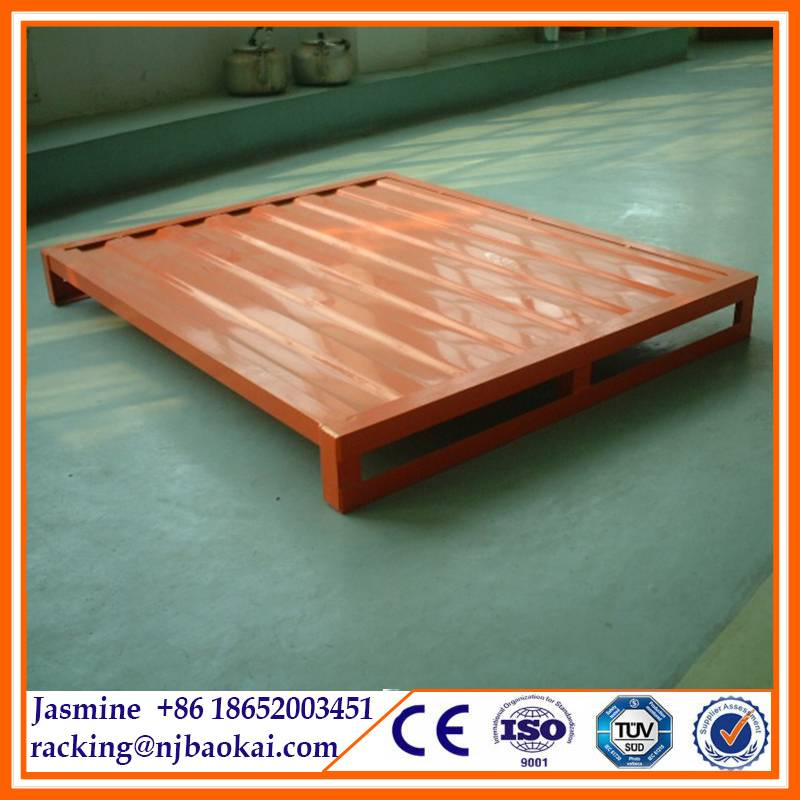Industrial Portable Storage Rack Warehouse Metal Stack Pallet