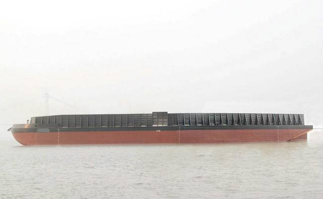 300' X 80' X 18' Deck Cargo Barge