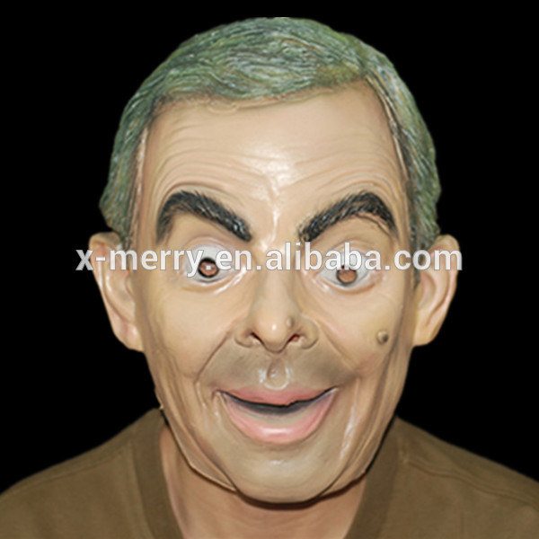 X-MERRY TOY High Quality Mr Bean Mask Halloween Festival Party Masquerade Masken