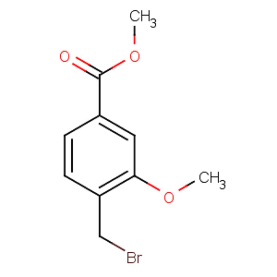 3-Methoxy-4-bromomethylbenzoic acid methyl ester