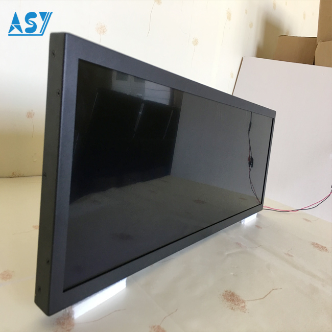 400 nits Bus Digital Advertising Display Bar Type TV Monitor
