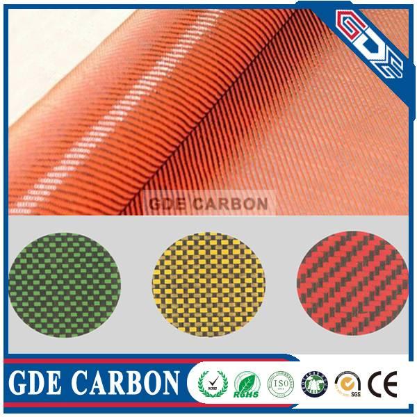 Carbon Kevlar Hybrid Fabric