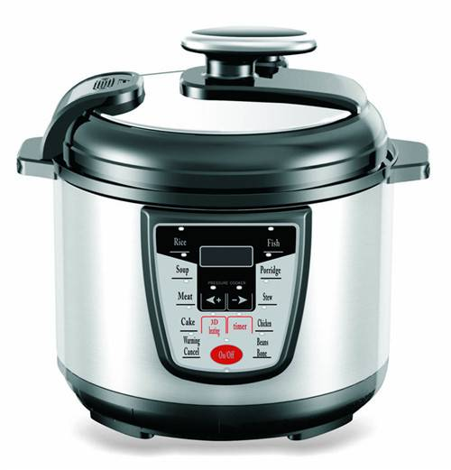 Stainless Steel Electric Pressure Cooker for 5-6people Use 5L (ZH-A505)