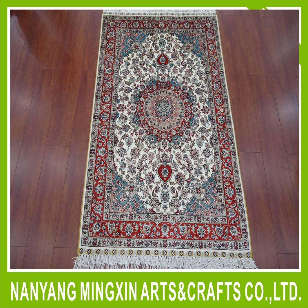 Hot home carpets/100% handmade persian silk / silk carpets and rugs